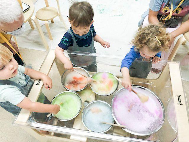 Toddler Art Lab: 18-36 mos (Tuesday 9:15-9:45)