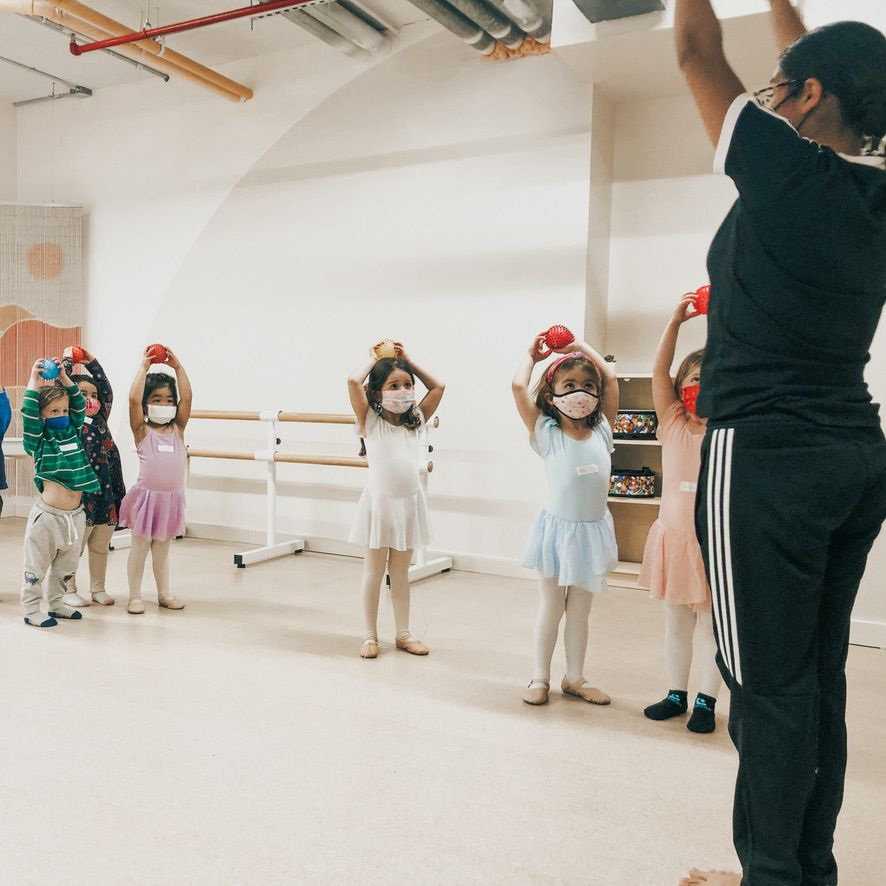 Ballet & Modern Dance: 3-5yrs (Thursday 3:15)