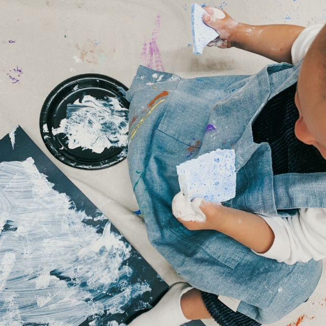 Baby Art Lab: 6-12 mos (Thursday 9:00-9:30)